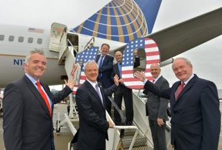United Airlines Celebrates 10th Anniversary of Belfast-New York Service