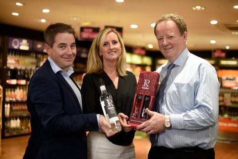 RubyBlue Vodka touches down at Belfast International Airport
