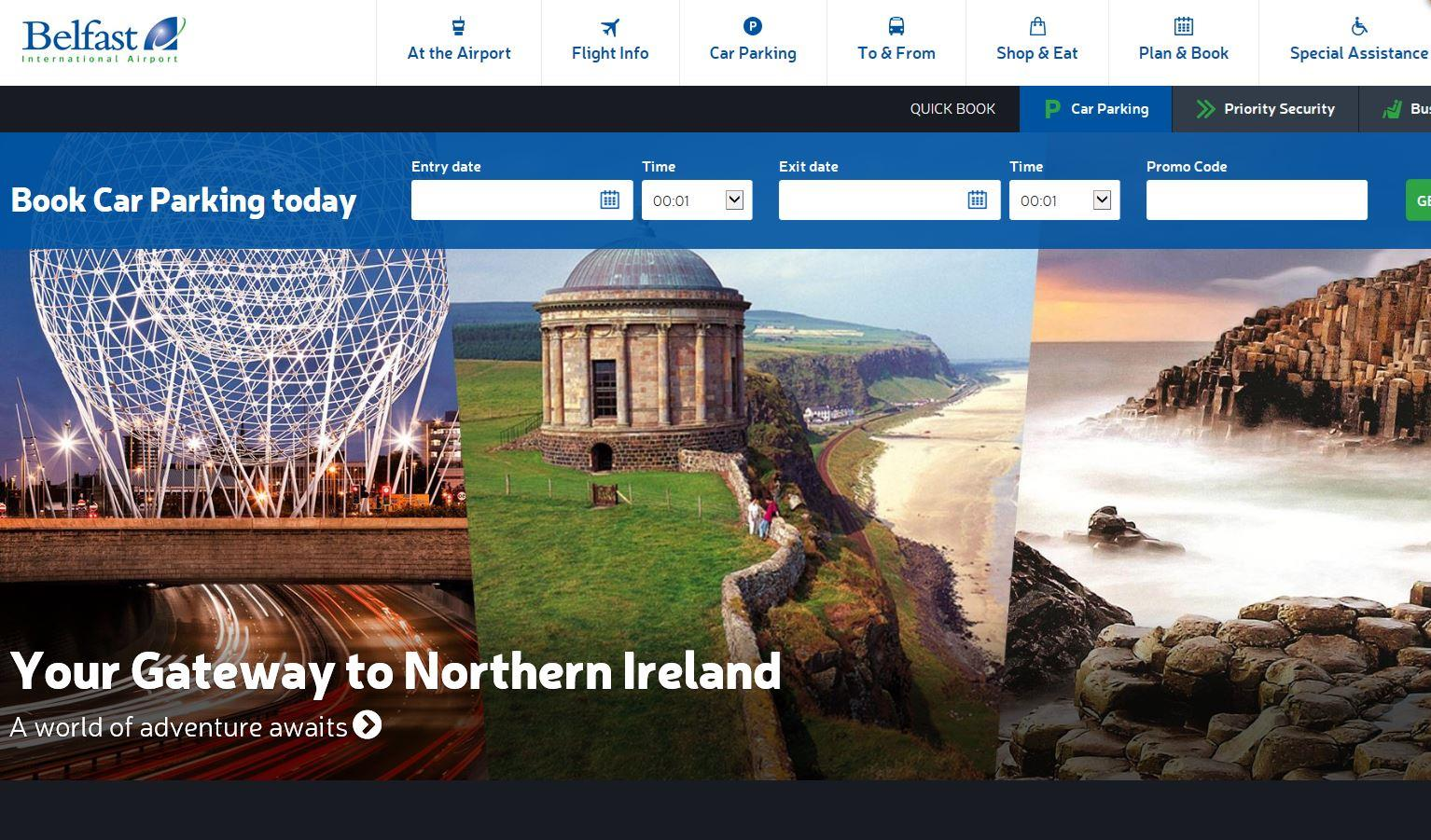 Belfast International unveils new website