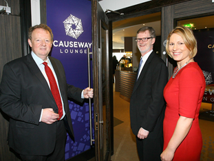 New Causeway Lounge boost for passengers at Belfast International Airport