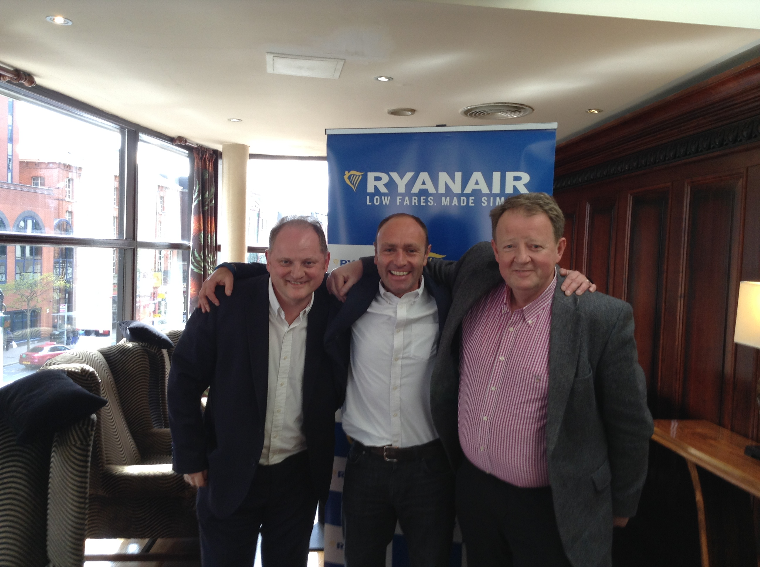 RYANAIR LAUNCHES NEW BELFAST ROUTES TO GDANSK, WARSAW & WROCLAW