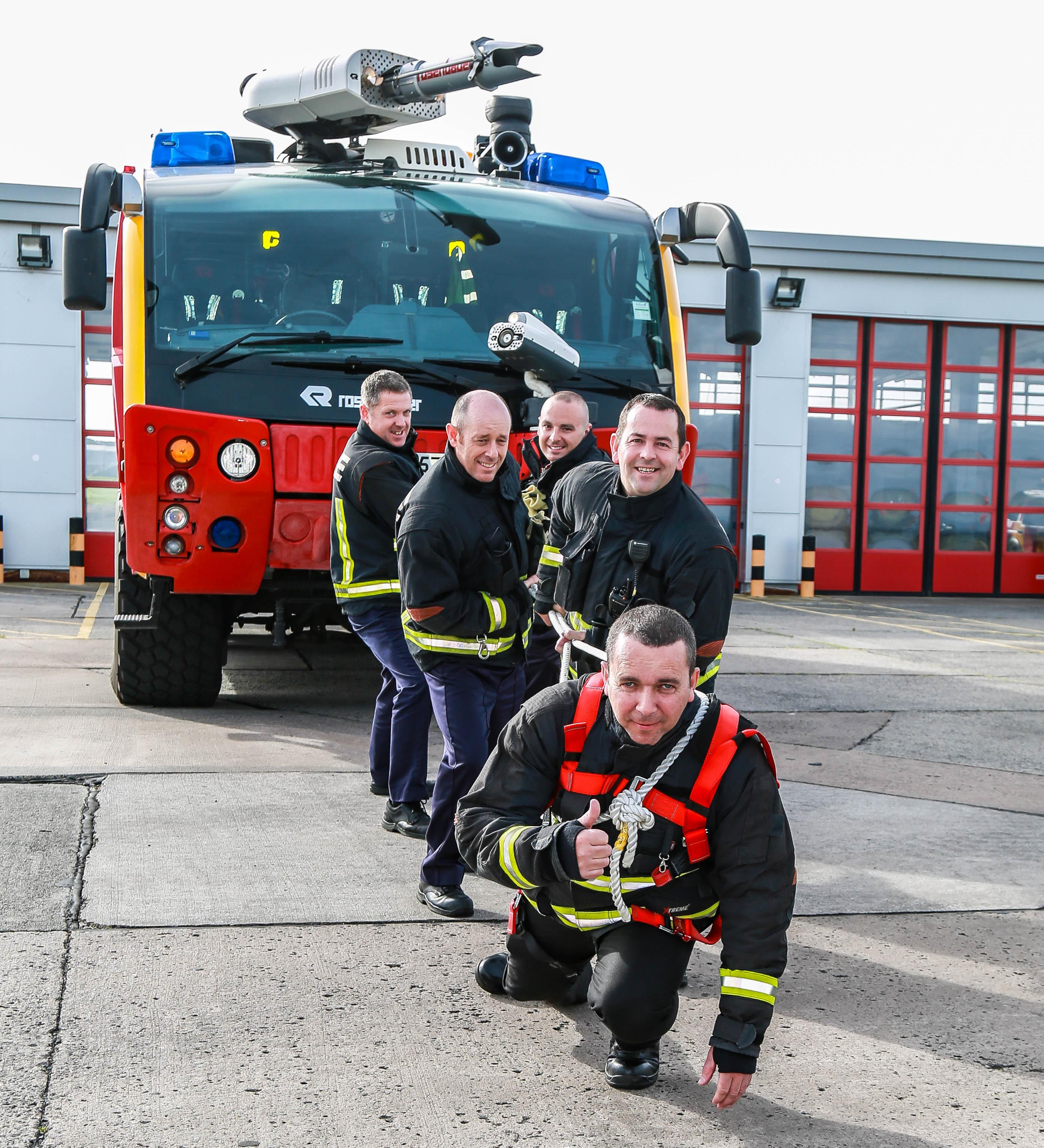 Belfast International firefighters to test 'pulling power'