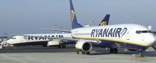 Airport welcomes Ryanair's new Manchester service