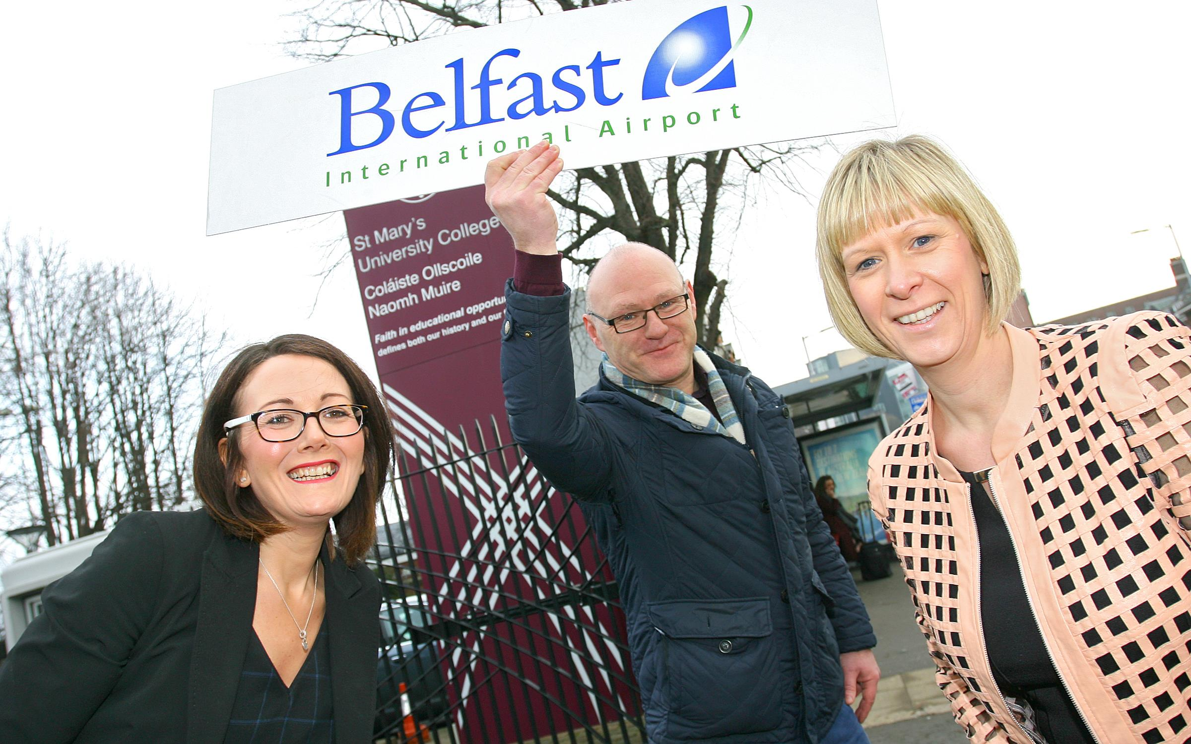 100 jobs on offer at Belfast International Airport