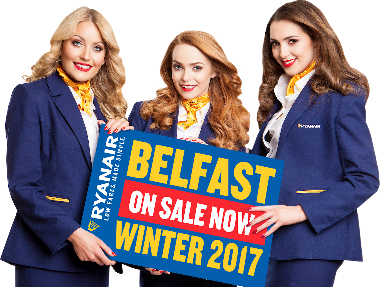 Ryanair launches Belfast Winter 2017 Schedule