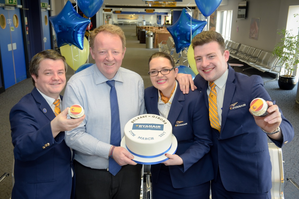 Six-in-a-row record for Belfast International Airport