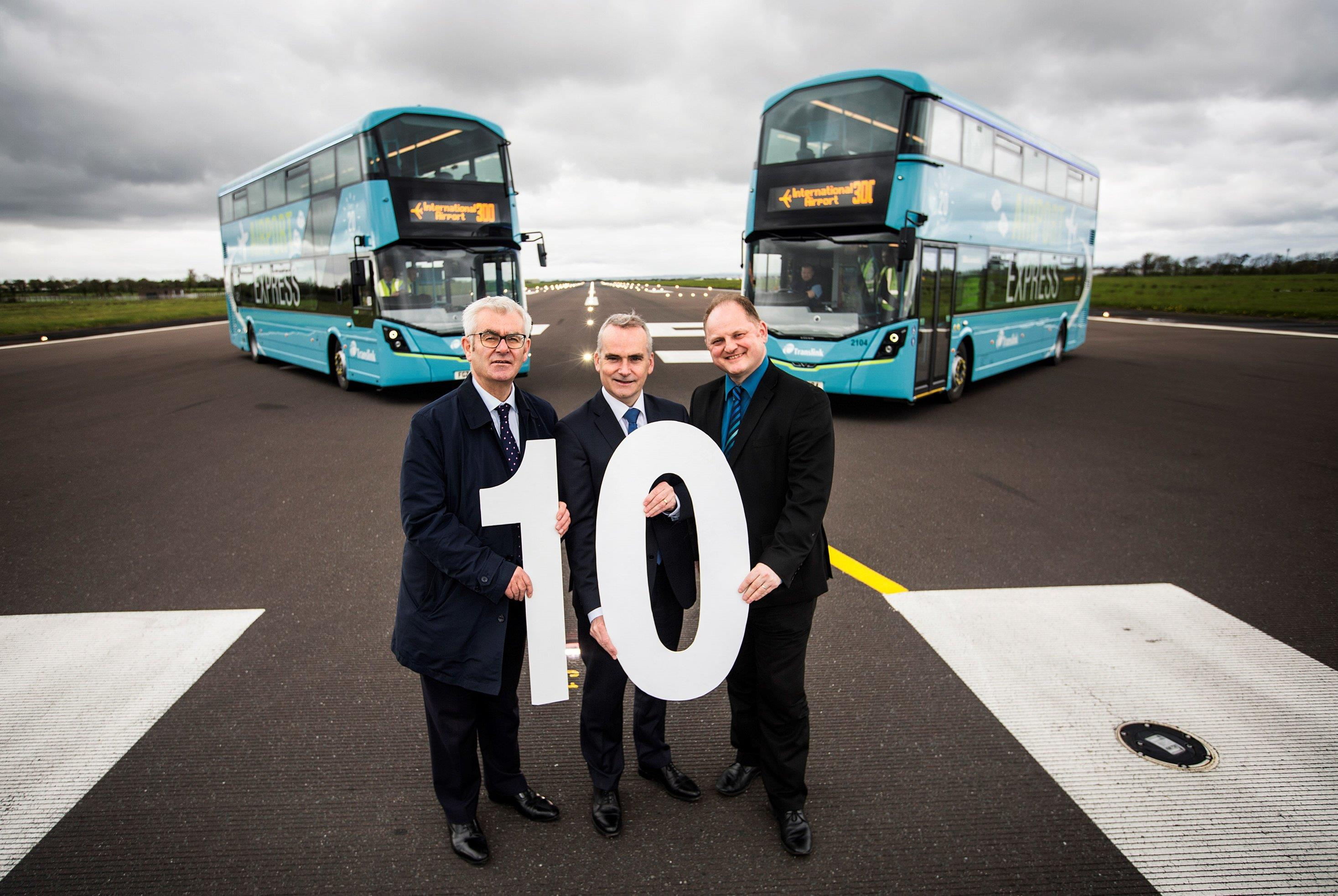 Translink reveal 'Smart' new upgraded Airport Express 300 Services