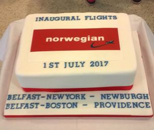 Norwegian's first routes from Northern Ireland to USA take-off