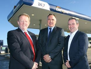 The first ever self-service Emo Express fuel forecourt in Ireland opens for business at BIA