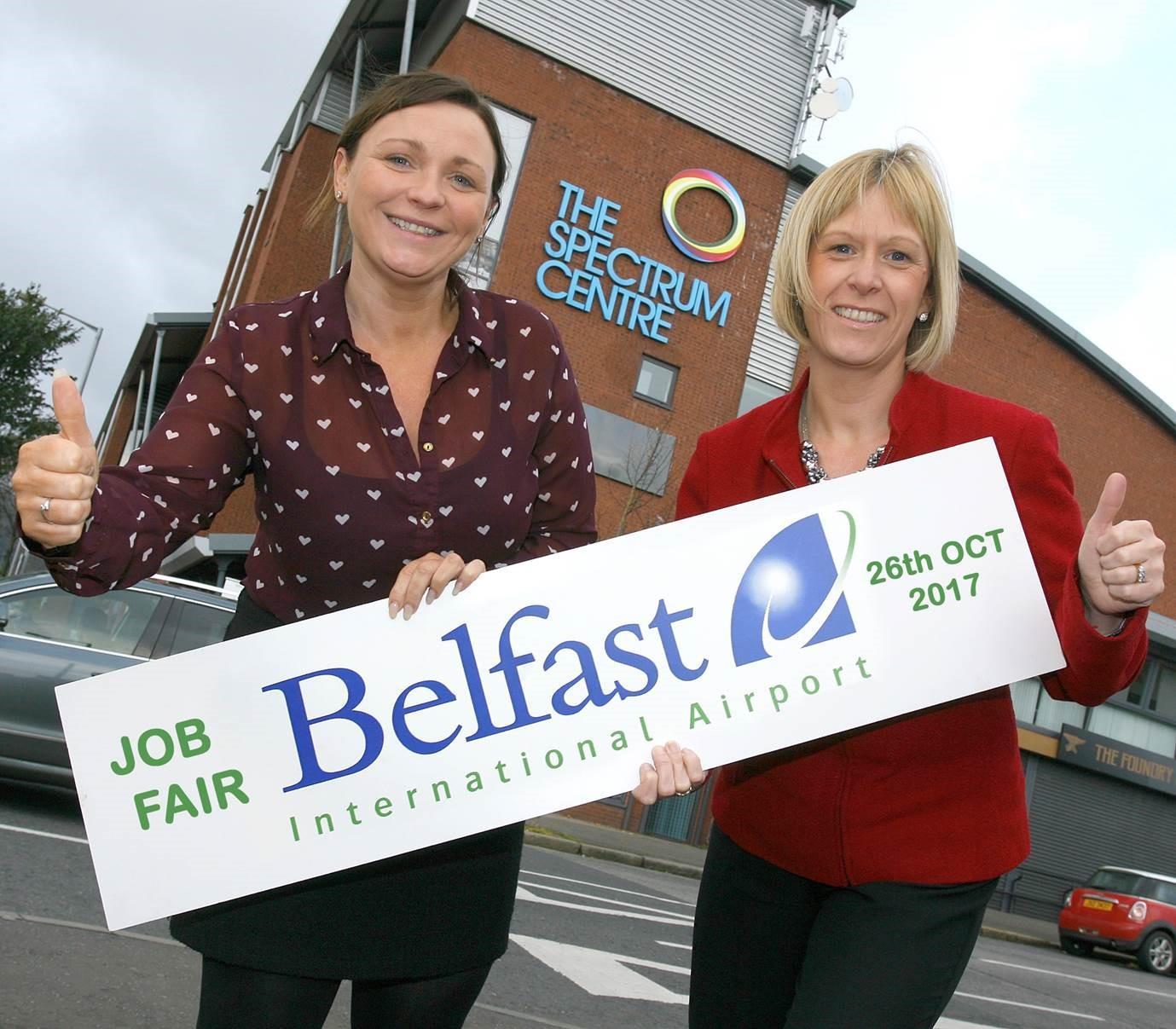 More than 100 airport jobs on offer at Shankill Job Fair