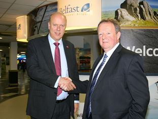 Brexit and APD raised with Secretary of State for Transport on visit to Belfast International Airport