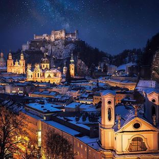Salzburg - The Gateway to the Austrian alps