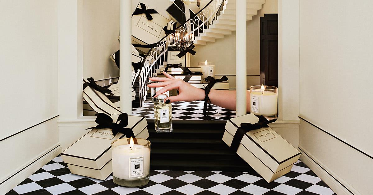 Jo Malone London arrives at Belfast International Airport