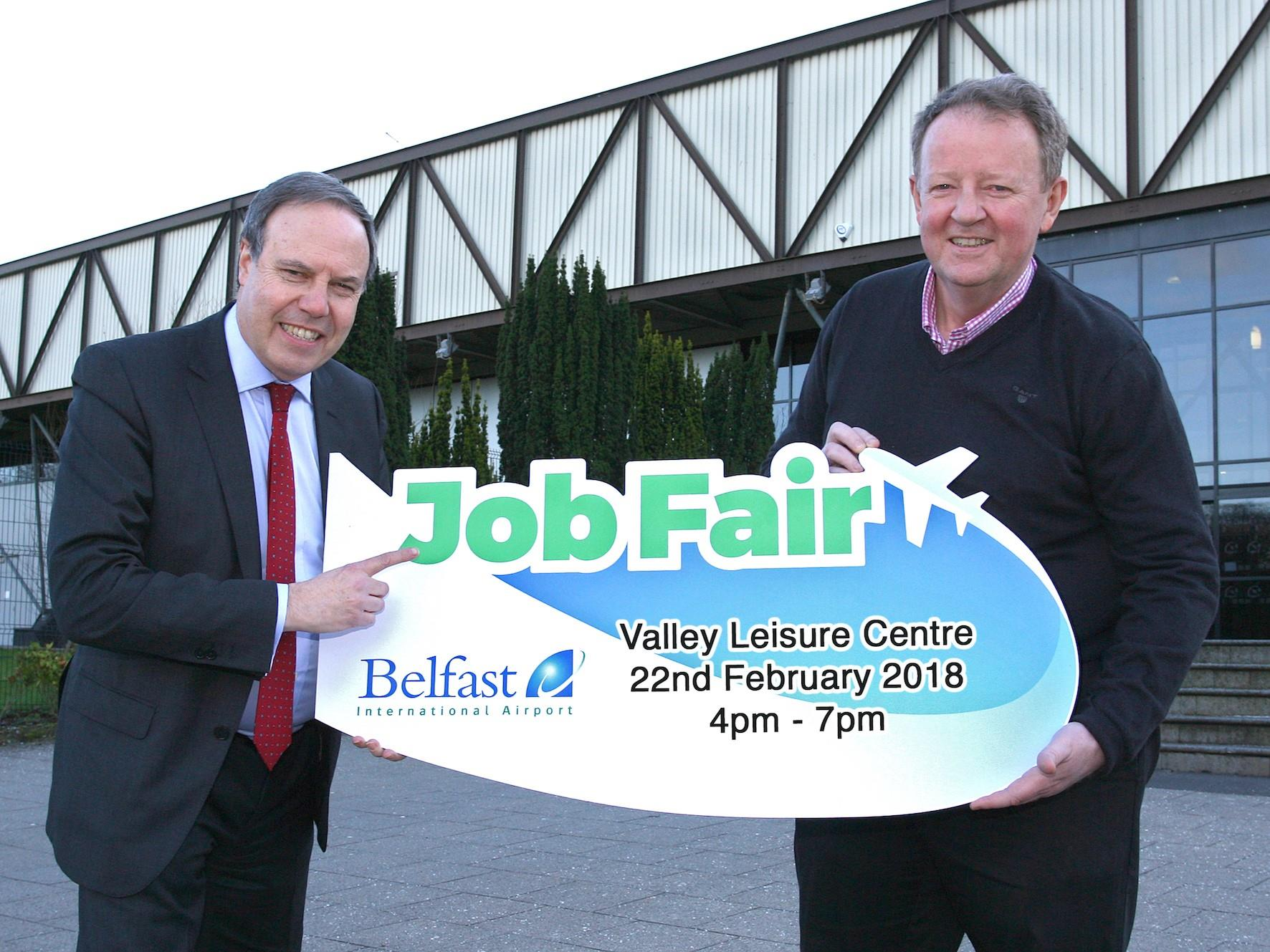 Airport Valley Leisure Centre  Job Fair has over 125 jobs on offer