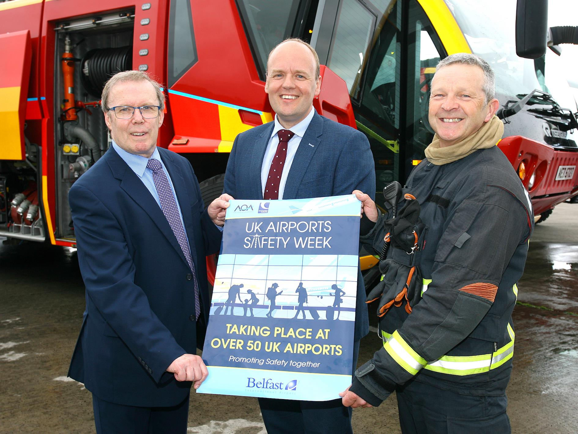 Airport Operators Association launches UK Airports Safety Week 2018