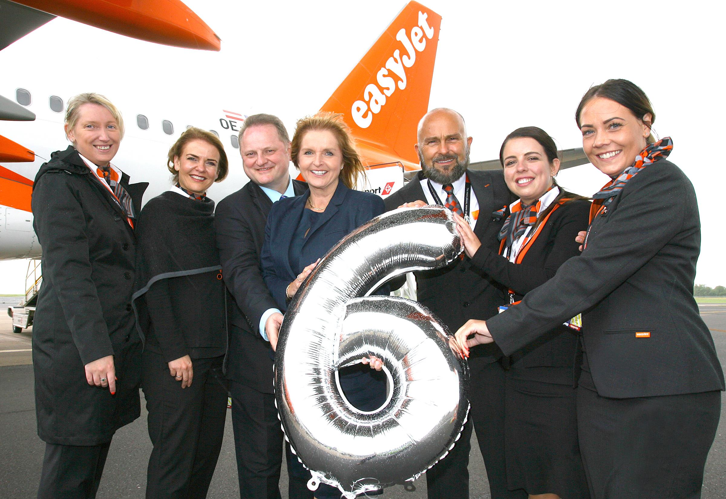 easyJet growth in Belfast continues as airline welcomes sixth aircraft  and four new routes take off