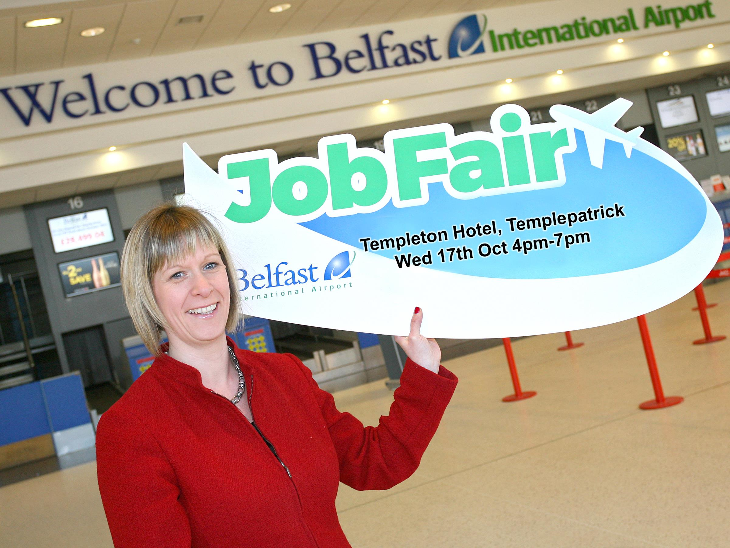 Airport Job Fair has over 120 jobs on offer
