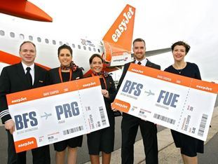 easyJet launches two new routes from Belfast this week