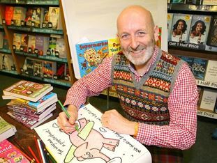 Celebrated childrens author gets the 'Maine' treatment in Randalstown