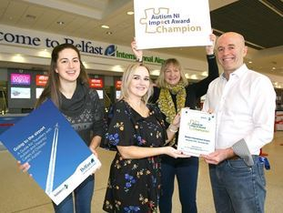 Belfast International lands Autism Impact Award