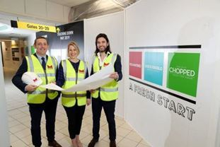 Marcon lands new fit-out contract at Belfast International Airport.
