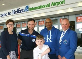 Airport helps 800 pupils push cricket 'boundary'