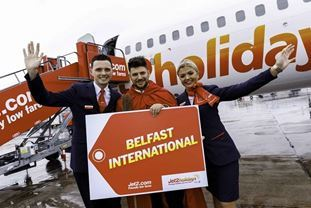 Jet2.com and Jet2holidays Celebrates Inaugural Flight from Belfast International Airport