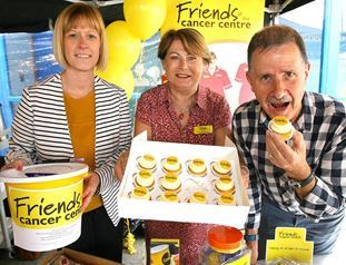 Mellow Yellow Tea Party with Friends of the Cancer Centre