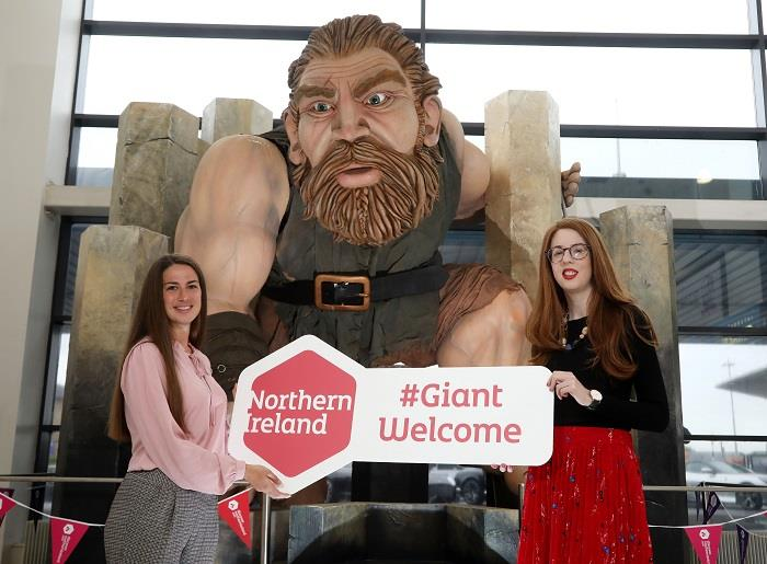 Visitors Experiencing Warmest Northern Ireland 'Giant Welcome'