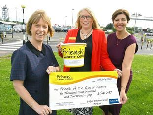 A Helping Hand … for Friends of the Cancer Centre