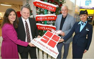 Lapland Charity Makes Dreams Come True For Northern Ireland Children
