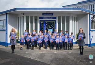 Airport Boost Aerospace Dreams with St Comgall's Primary School