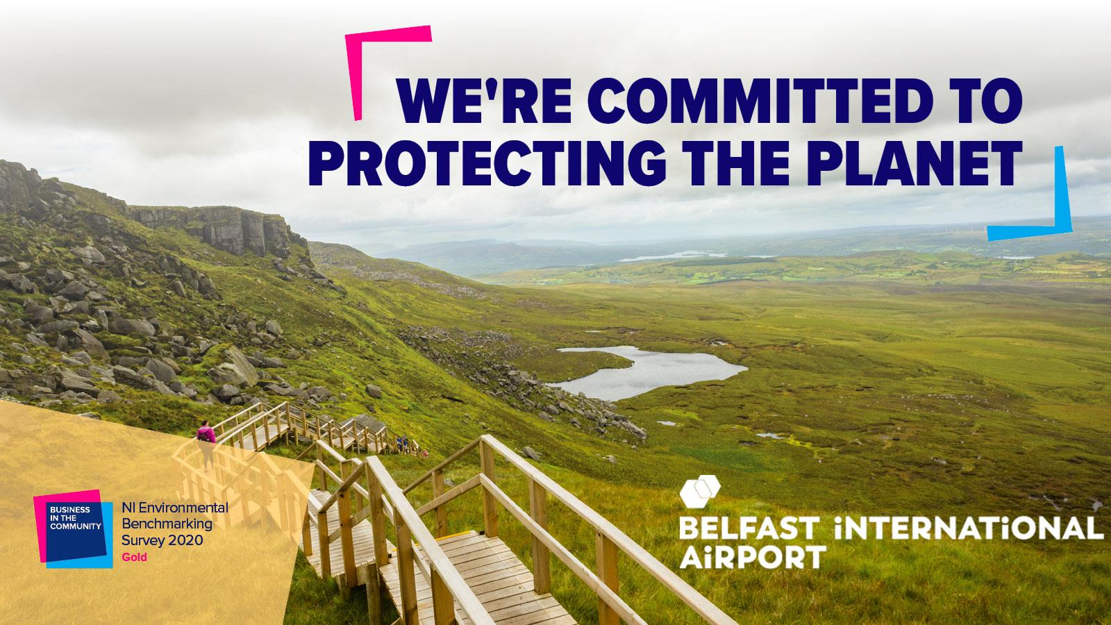 Belfast International Airport recognised for green leadership through NI Environmental Benchmarking Survey