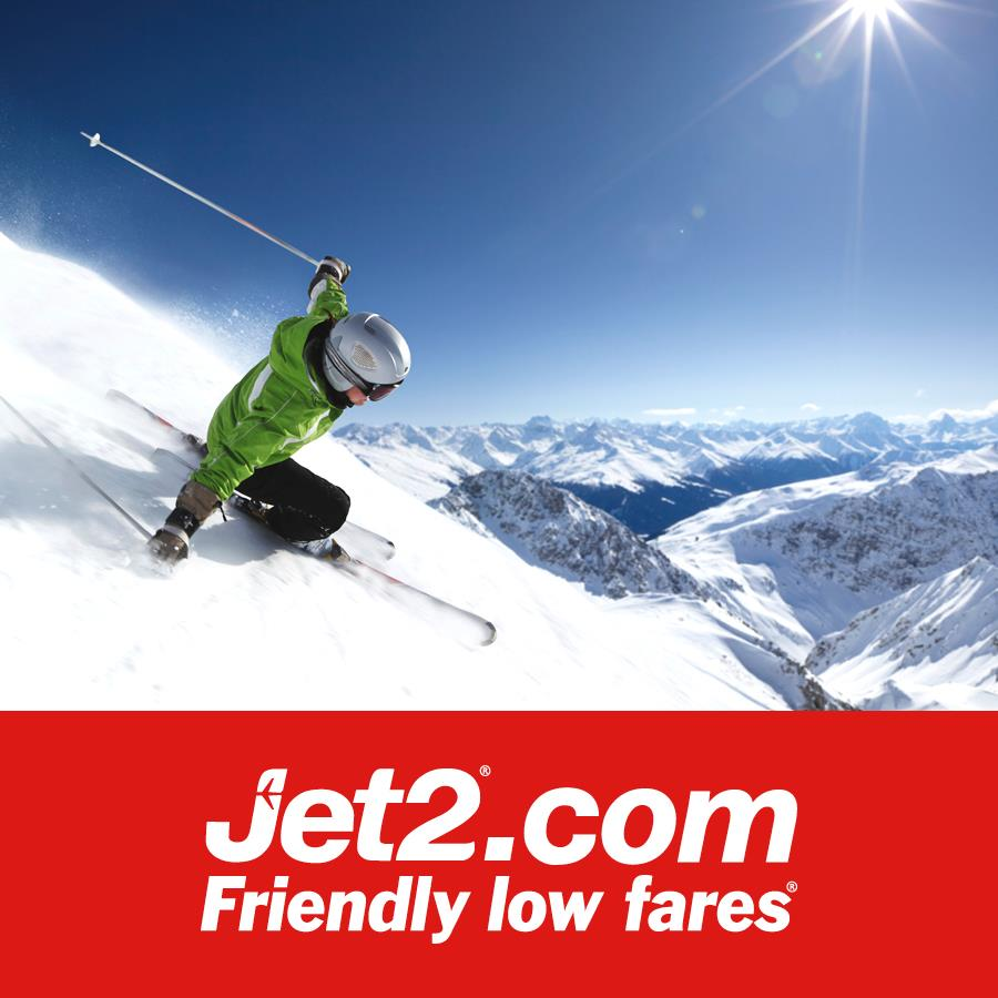 Grab a piste of the action as Jet2.com ski flights return from Belfast International Airport for Winter 21/22