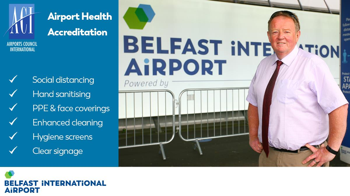 Belfast International Airport Receives Health Accreditation